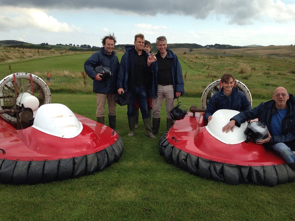 Proud hovercraft winner of this group from Holland